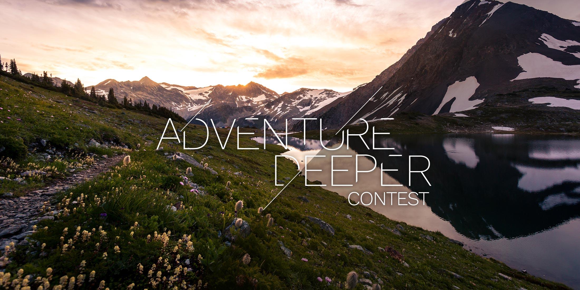 Adventure Deeper Contest