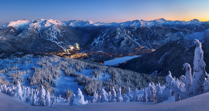Whistler in Winter - Photo by David McColm