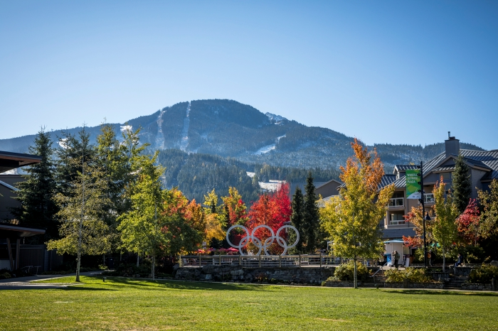 Whistler Olympic Plaza in Fall - Photo by Justa Jeskova