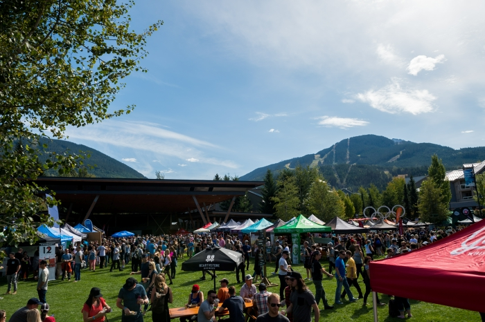 Main Event at the Whistler Village Beer Festival - Photo by Mike Crane