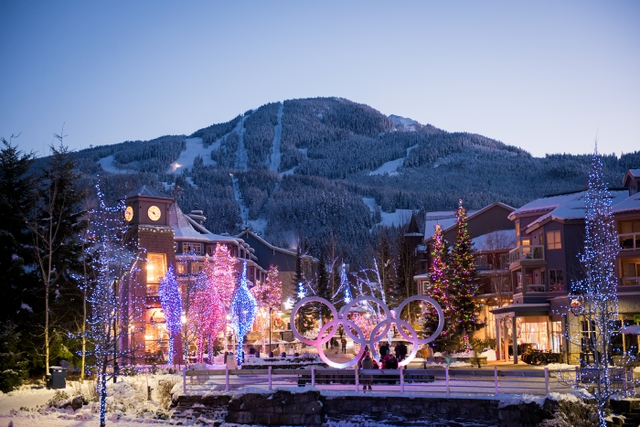 Whistler in Winter - Photo by Mike Crane