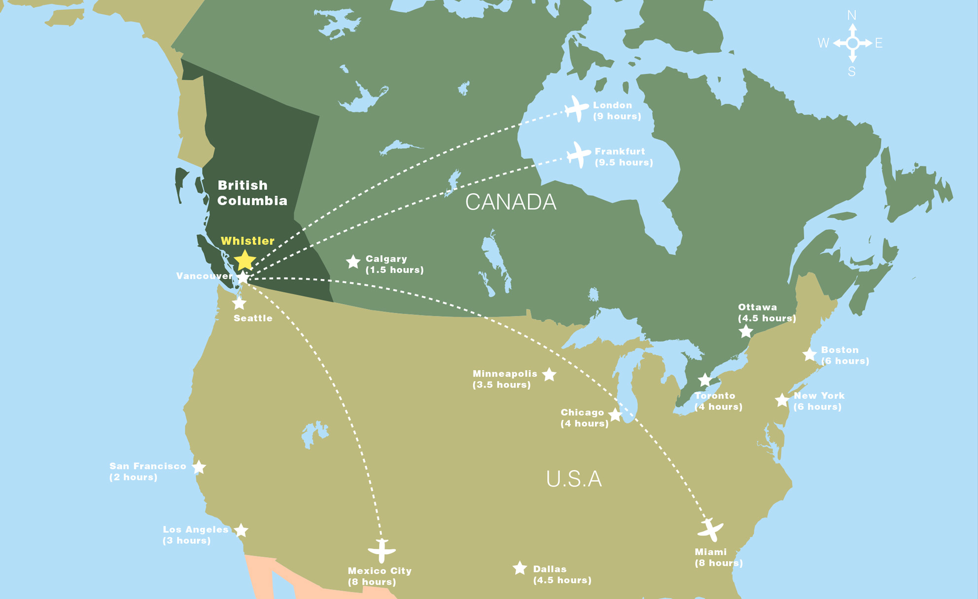 Where Is Whistler In Canada Map Getting to Whistler | Whistler Meetings and Conventions