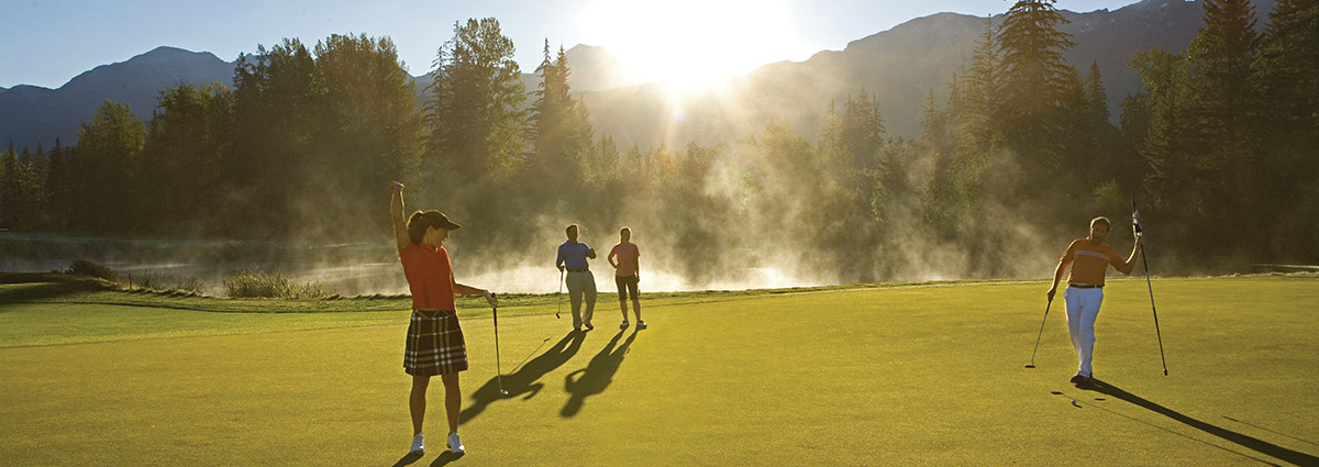 Three days of golfing in Whistler: You may need four!
